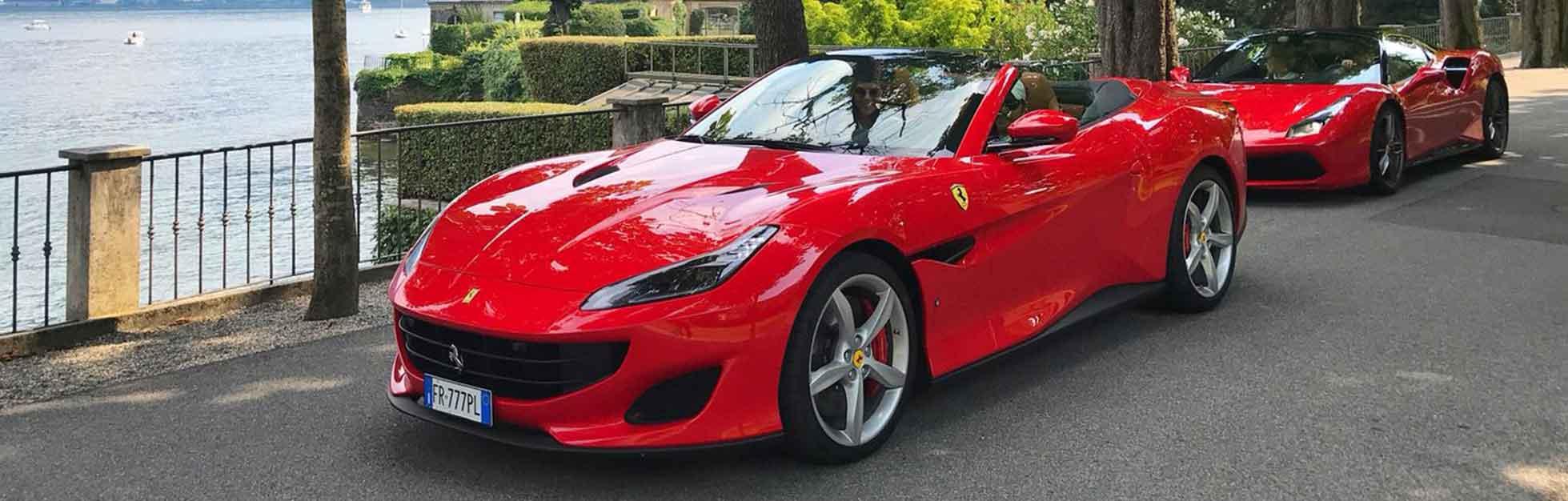 Ferrari rijden in Italie